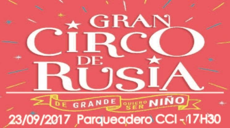 Gran Circo de Rusia (Sabado 23/09/2017 17H30)
