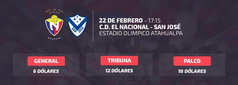 Nacional vs San Jose  de Oruro