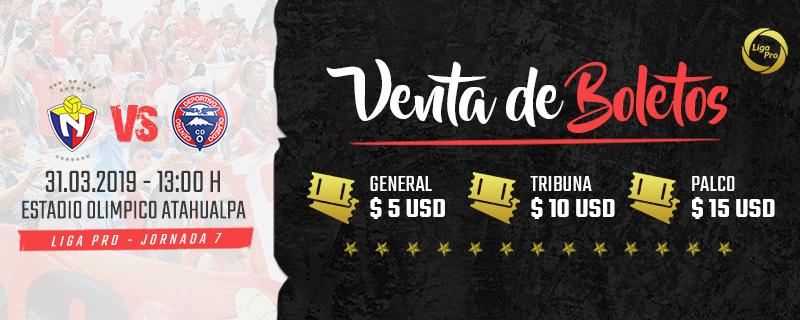 EL NACIONAL VS CLUB DEPORTIVO OLMEDO