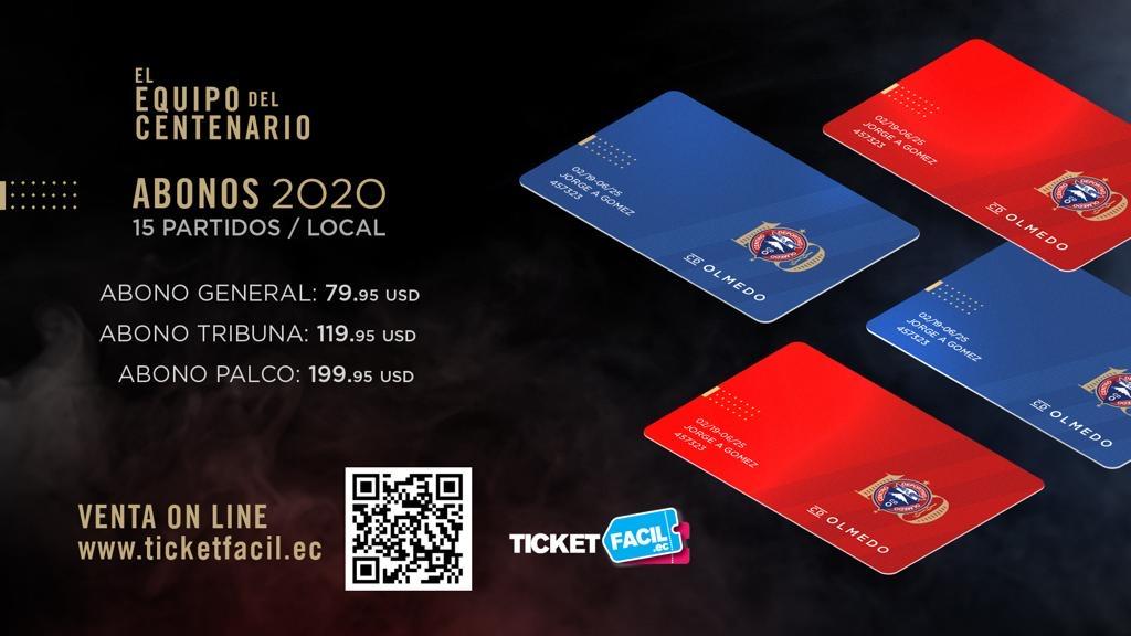 ABONOS 2020 CD OLMEDO